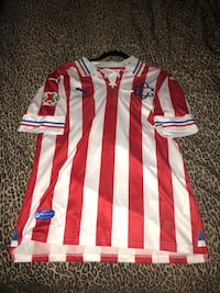 Chivas jersey 110 años new with tags and pulido name and number size is large  Perris, 92571