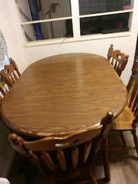 Table set with 5 chairs Pick Up Only  Mesa, 85203