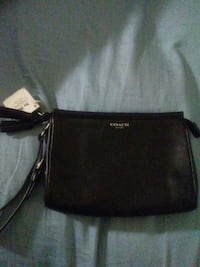 black leather Coach crossbody bag Washington, 20024