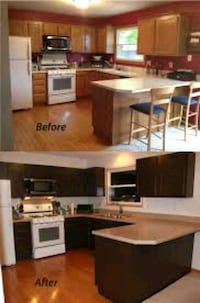 Painting kitchen cabinets Las Vegas