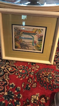 Pretty Framed and Matted Picture