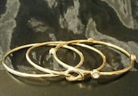 gold-colored bangles Indianola, 50125