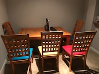6 Chair and Table  Pooler, 31322