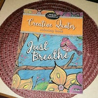 Just Breathe - Adult Coloring Book