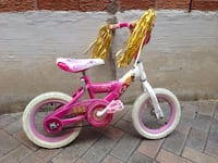 toddler's pink and white bicycle Richmond Hill, L4B 1W9