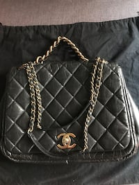 Chanel Black leather quilted  bag  Pasadena, 91103