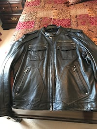 HD Leather Jacket - Size 2XL North Augusta