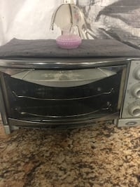 stainless steel and black toaster oven Frederick, 21703