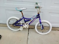 toddler's blue bicycle Troy