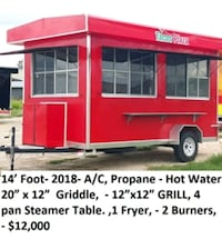 red and white pop-up trailer New Braunfels, 78130