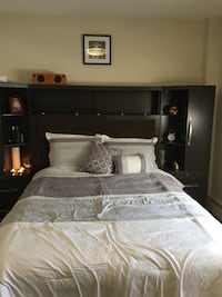 Willowdale Headboard/Cabinet Piece $950 Montréal, H3X 2E1