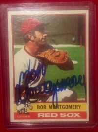 Bob Montgomery Hand Signed Autographed Fall River, 02720