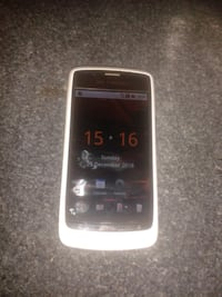 black Samsung Galaxy Android smartphone Surrey
