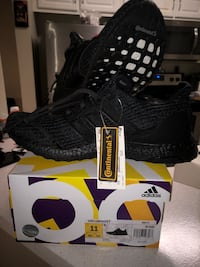 d3b3393fe81 Used Adidas Ultra Boost 4.0 Triple Black BB6171 LIMITED for sale in ...