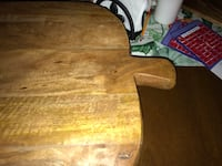 Brown wooden table Canton, 02021