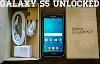 Galaxy S5 UNLOCKED (Like New) Black  Arlington