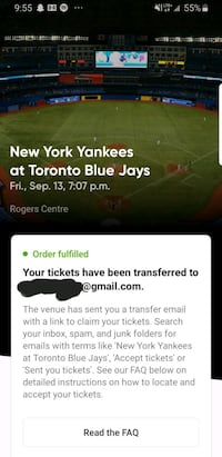 Jays Tickets Toronto, M4N 1N3