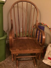 brown wooden windsor rocking chair Nashville, 37206
