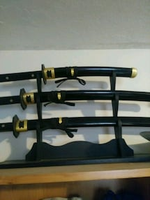 Katana set full tang