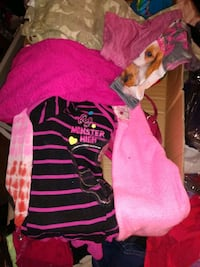 Girls size 8 to 12 lot clothing and plushie