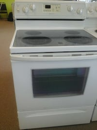 white electric 4-induction range oven Clayton, 27520
