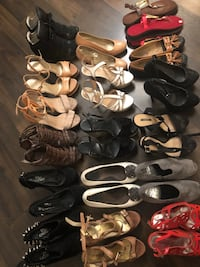 18 pairs of shoes fits 5.5-6.5 Edmonton, T6W 0V8