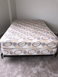 Full Size Mattress-Box Spring-Frame Washington, 20010