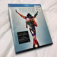 Like New Michael Jackson's This Is It Blu-Ray Whittier, 90605