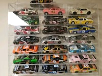 Nascar diecast cars and display case  Waynesboro, 17268