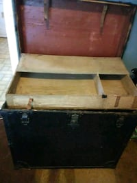 brown and black wooden chest box Wilmington, 28412