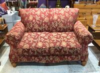 Rust color/ floral pattern loveseat Frederick, 21701