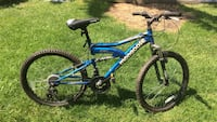 Blue Mongoose full-suspension bicycle Villa Park, 60181