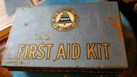 Vintage Bell Telephone First Aid Kit  Niagara Falls
