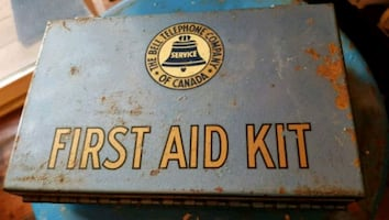 Vintage Bell Telephone First Aid Kit