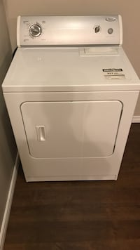 white Whirlpool front load clothes dryer Edmonton, T6W 0K1