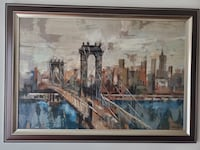 Brooklyn bridge Painting  Jersey City, 07306