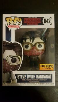 Hot topic exclusive Steve with bandana funko pop Mississauga, L5W 1S1