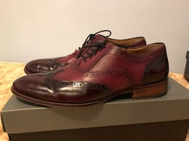 MENS WINGTIP DRESS SHOE (JOHNSTON & MURPHY) Sz 11