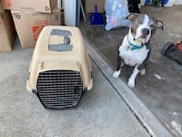 Dog crate, pet carrier