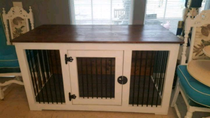 Photo Dog kennel/tv Stand