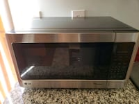stainless steel and black microwave oven 8 km