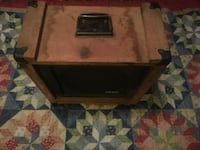 """Crate 12"""" Speaker Cabinet solid wood and iron tri North Little Rock, 72116"""