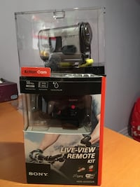 Sony action cam brand new  724 km