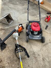 Lawnmower, blower,trimmer good condition Riverdale, 20737