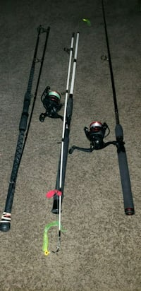 Fiahing rod bundle Hampton, 23666