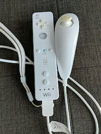 Wii remote and nunchuk Burnaby, V5E 4N7