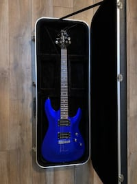 Schecter Omen-6 Electric Guitar with Case