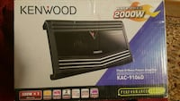 Black rectangular kenwood 2000w kac-9106d Des Moines