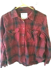 Girls flannel large