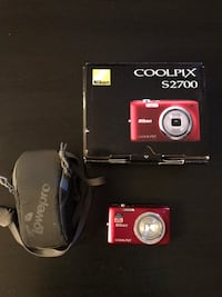 Never used coolpix Nikon camera with case Calgary, T1Y